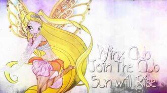 Winx Club Join the Club - Sun will Rise -SoundTrack-