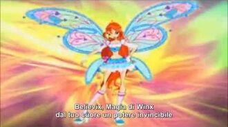 Winx Club Believix Transformation (Italian)
