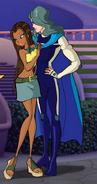 Кадиджа с парнем