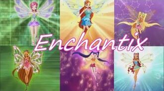 Winx Club~ Enchantix -Italian- (Lyrics)