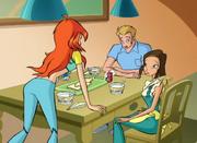 Блум узнаёт что она приёмная дочь