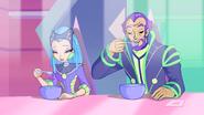 Родители Текны и суп
