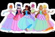 Цветочные принцессы