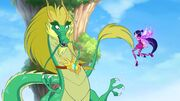 Зелёный дракон