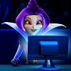 Гриффин за компьютером