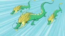 Зелёные драконы
