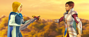 Скай передаёт меч Орителу (ТЗК)
