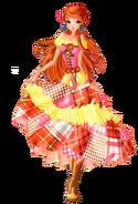 Блум в лоскутном платье-2