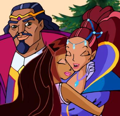 Лейла и её родители