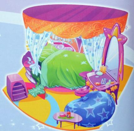 Кровать Стеллы на Земле