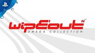 WipEout Omega Collection - Exclusive Tigron Ship Reveal PS4