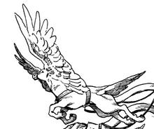 Winged horse 01