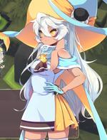 Luna normal portrait