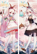 Eirudy collab cafe outfits