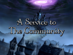 W.I.T.C.H. S01E05 A Service to The Community