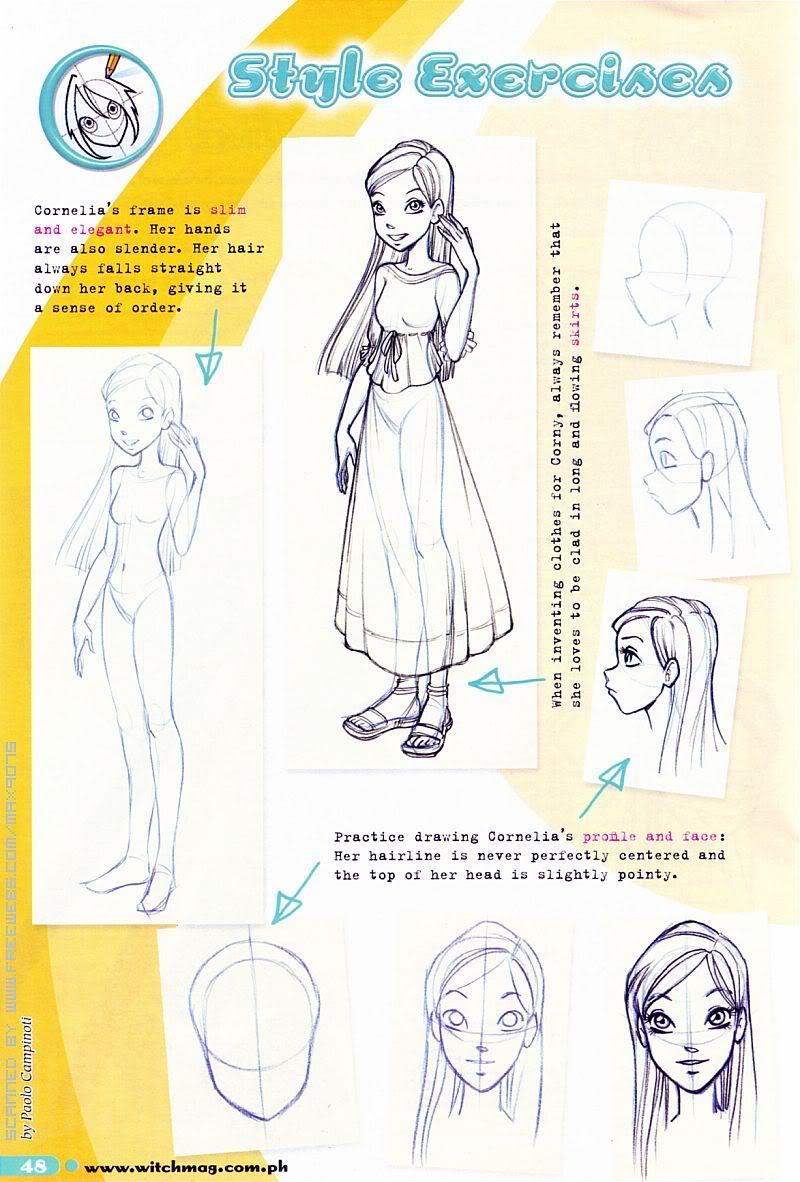 Image - How to draw Cornelia 2.jpg~original.jpg | W.I.T.C.H. Wiki ...