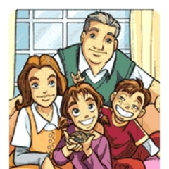 Anna and her family