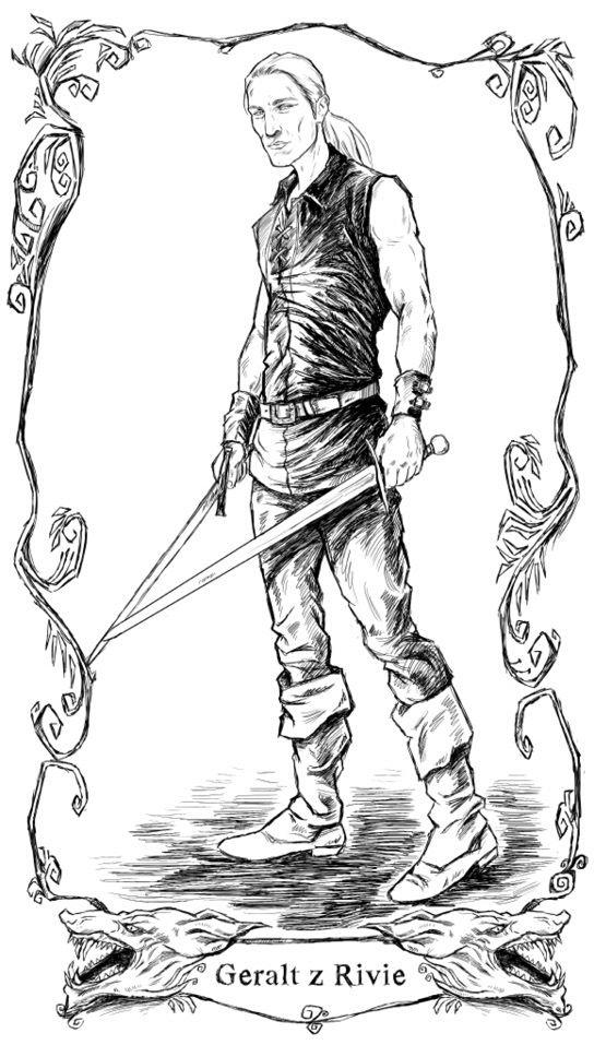 Geralt by Jana Komárková