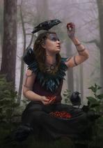 Gwent cardart skellige crow clan druid