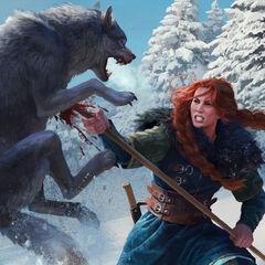 Clan Heymaey battle maiden