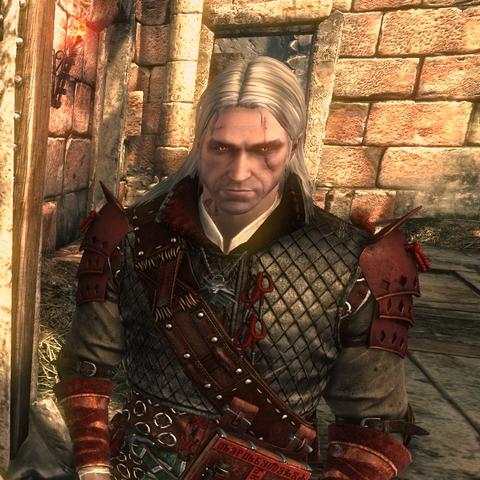 Geralt w Zbroi Vranów