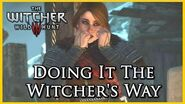 Witcher 3 Killing the Hym using the Witcher's Way, Refuse to Throw the Baby in the Oven