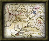 Decorative Painting framed map