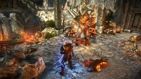 Fire Elemental (The Witcher 2) Full HD