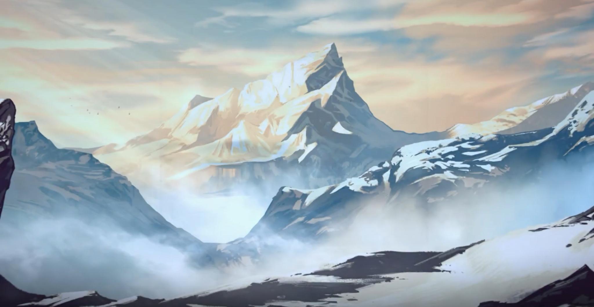 TB mahakam mountains