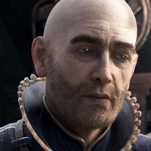 Абелард у вступному відео до «Відьмак 2: Вбивці Королів»
