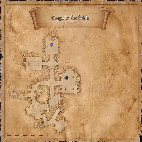 Mappa della cripta