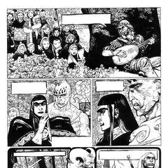 Una tavola del nuovo fumetto di Przemysław Truściński