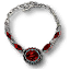 Tw3 silver ruby necklace