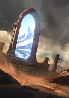 Gwent cardart neutral portal