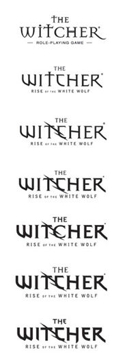 Witcher logo evolution