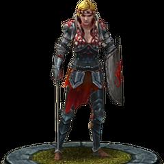Saskia's character model in <i><a href=