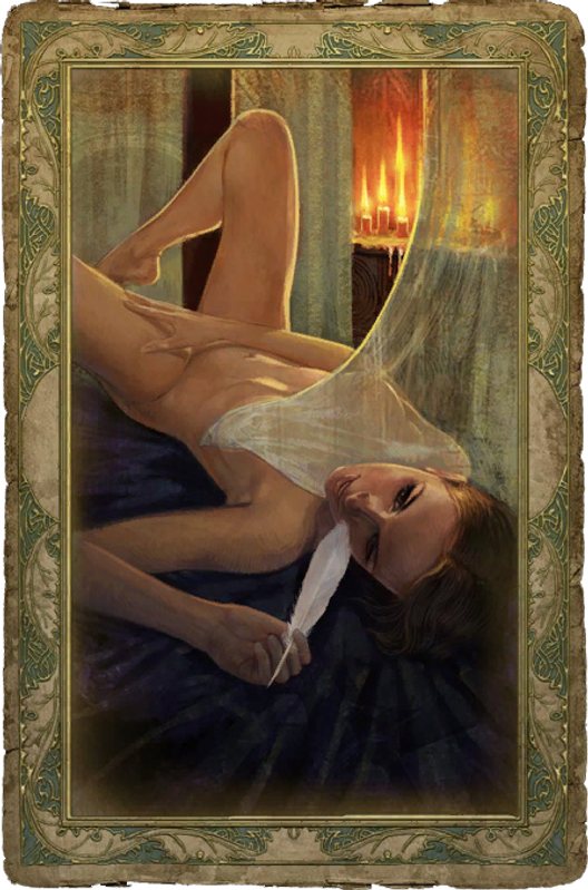 The witcher triss sex card