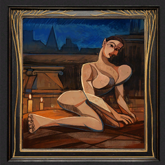 Ge'el's painting (censored)
