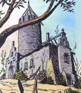 Old manor house comics