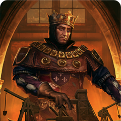 Foltest's gwent card art copper level