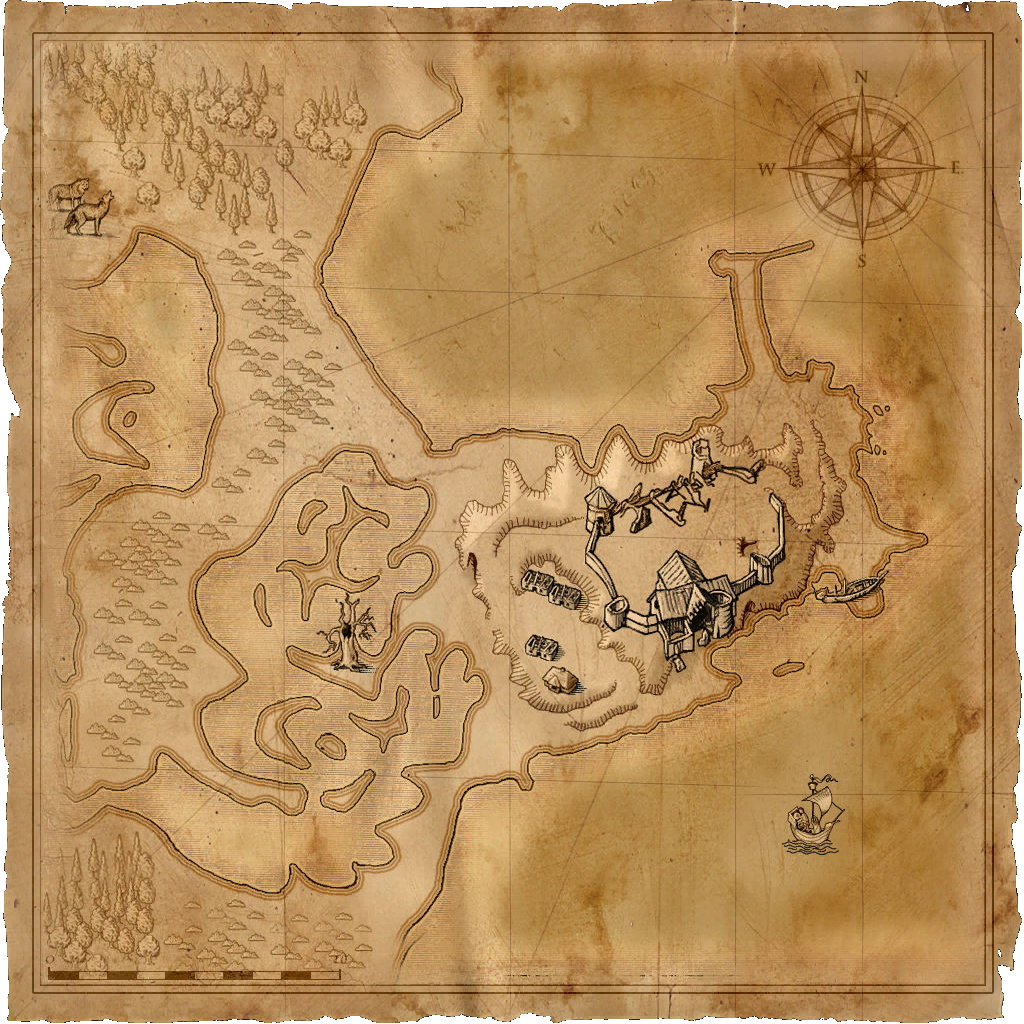 Image - Map Old Manor png | Witcher Wiki | FANDOM powered by