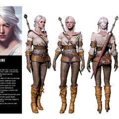 Render of CIri in the official cosplay guide