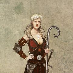 Philippa's early concept art.