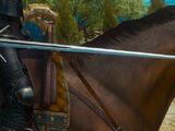 Grandmaster Wolven silver sword