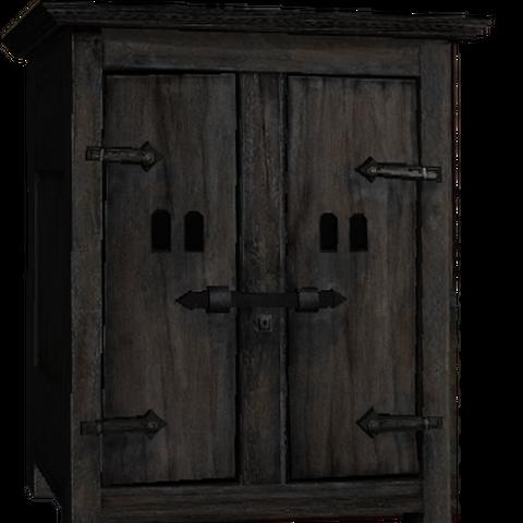 wardrobe, 2 doors