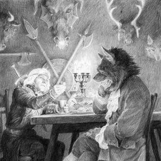 Denis Gordeev's drawing (Russian books)