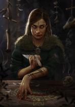 Gwent cardart neutral fortune teller