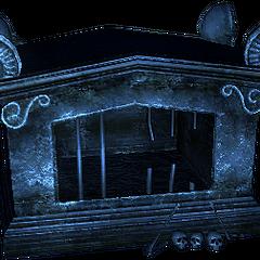a pretty sarcophagus