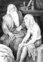 Denis Gordeev Vysogota and Ciri