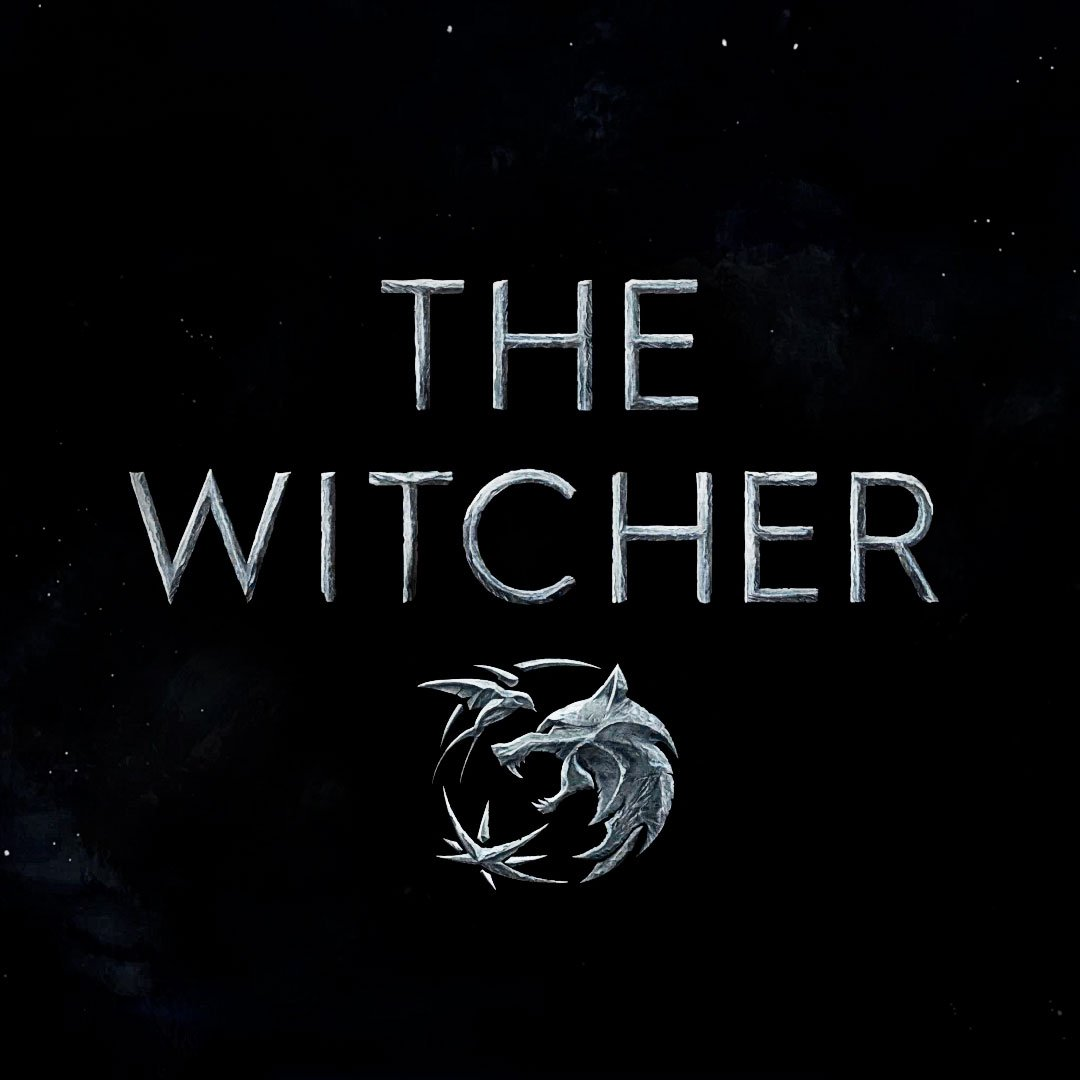 The witcher netflix logo symbols